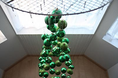 мастер-класс елка из шариков своими руками