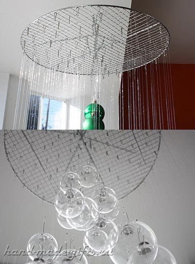 елка из шариков своими руками: мастер-класс