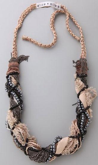 ожерелье в стиле бохо своими руками