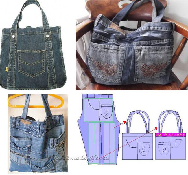 Как сшить сумку из старых джинсов своими руками пошаговая инструкция фото 84