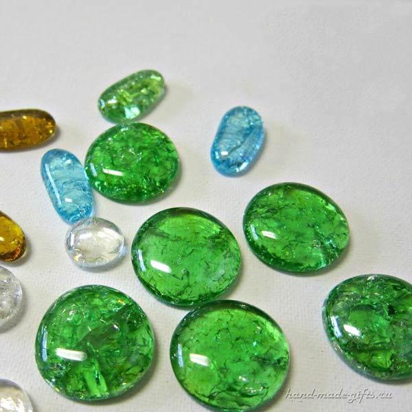 стеклянные камни, марблз, мастер-класс