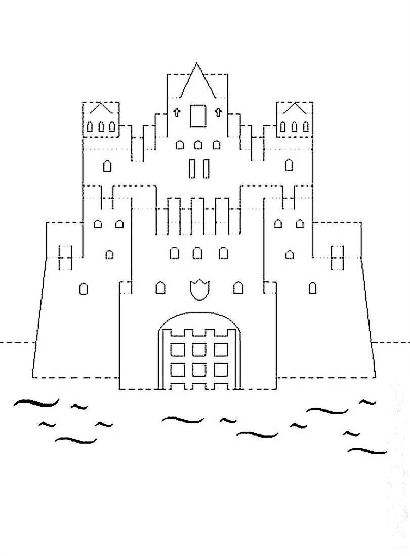 Как сделать объемный замок из бумаги фото 383