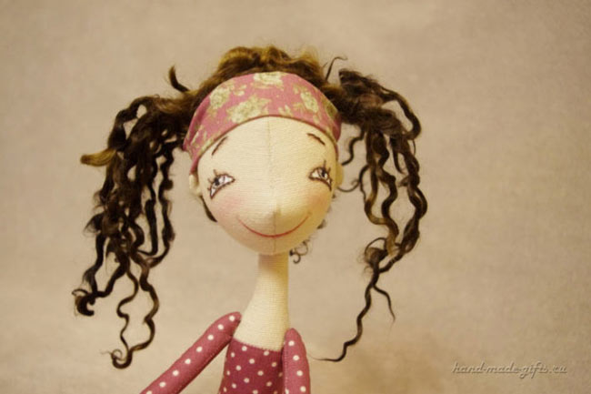 кукла из ткани балерина