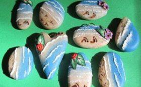 морские украшения из полимерной глины