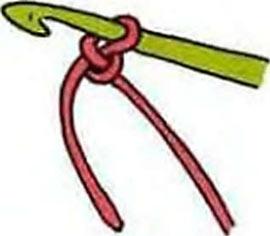 как начать вязание крючком первую петлю