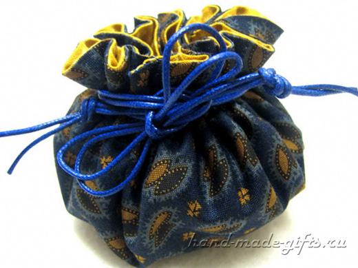 сумочка-мешочек для девочки своими руками