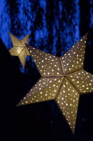 объемные звезды из бумаги своими руками пятиконечные