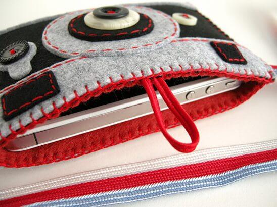 чехол для фотоаппарата в домашних условиях