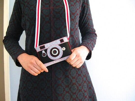 чехол для мобильного или фотоаппарата своими руками