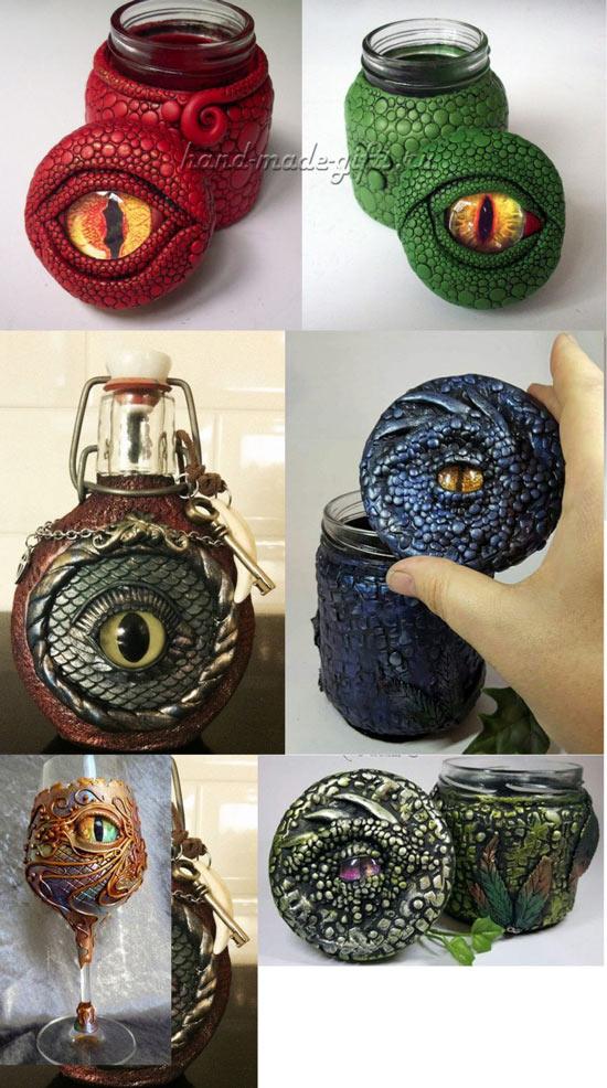 как сделать глаз дракона