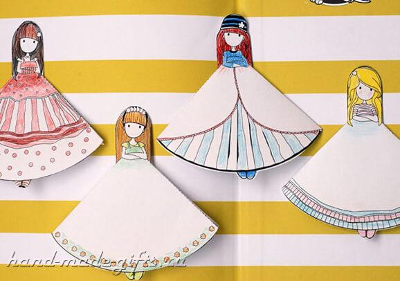 детская закладка для книг своими руками для девочек