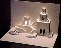 киригами замки
