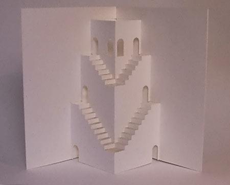 киригами замки для начинающих