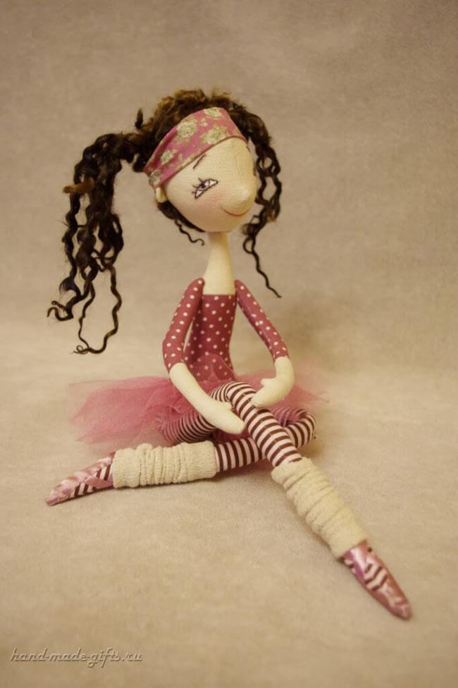 кукла балерина своими руками из ткани выкройки