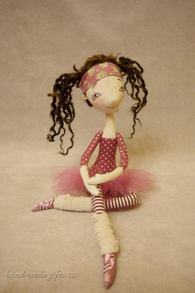 как сшить красивую куклу балерину своими руками выкройки