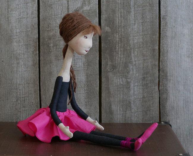 как сшить куклу балерину своими руками