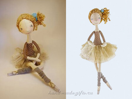красивая кукла балерина мастер класс своими руками выкройки