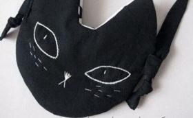 сумки с кошками из ткани
