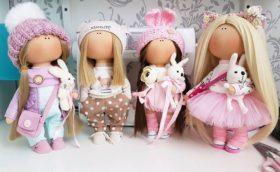 Куклы своими руками из колготок: фото инструкция