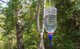 Умывальник из пластиковой бутылки 5 литров