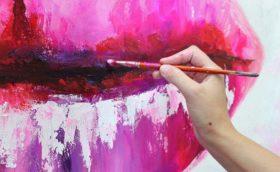 Как самому нарисовать картину для интерьера