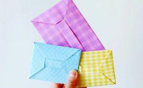 Как сделать маленький конвертик