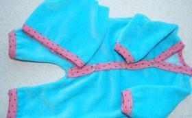Выкройки одежды для новорожденных в натуральную величину